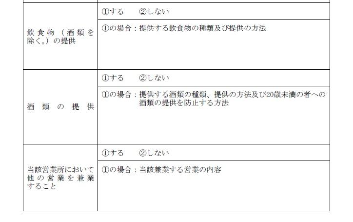 営業の方法(記入例2)
